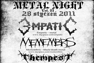 Metal Night Vol.II - poster