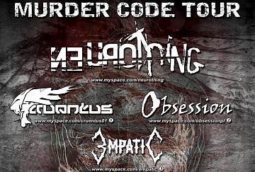 Murder Code Tour   - poster