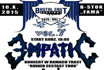 BRUTAL EAST vol.7 - poster