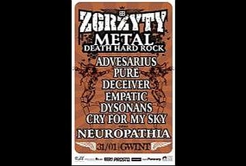 Festiwal 'Zgrzyty' - poster