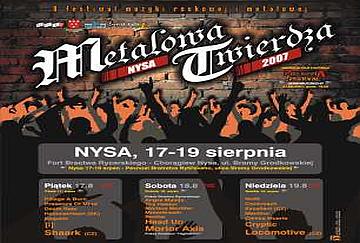 METALOWA TWIERDZA  - poster