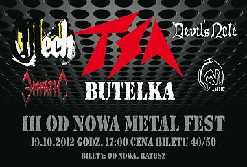 Od Nowa Metal Fest - poster