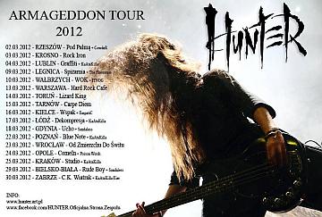 ARMAGEDDON TOUR 2012 - poster
